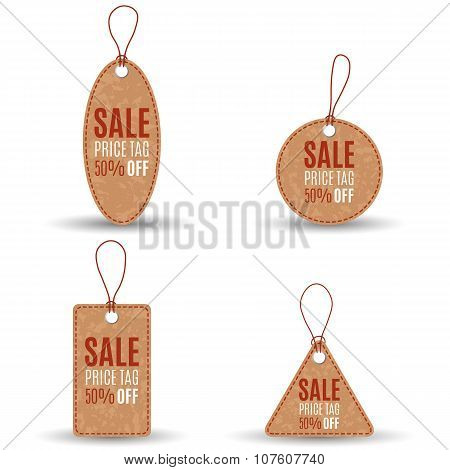 Vector Sale Tags