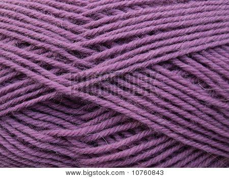 Net pattern of woolen yarn