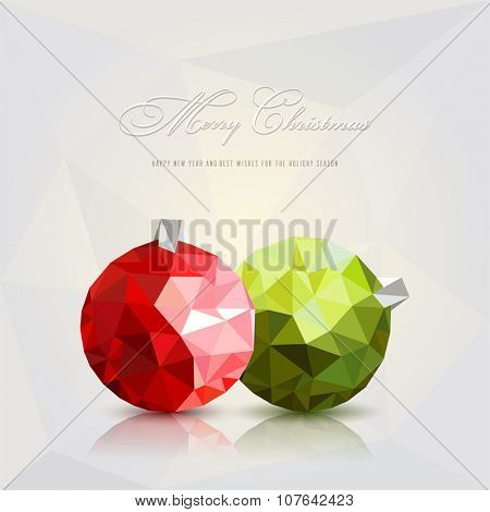 Christmas balls.Vector