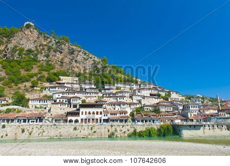 Old Albanian town of Berat is one of the well-known UNESCO landmarks of the country