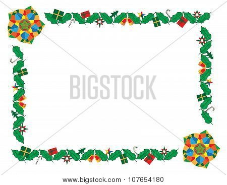 christmas border and frame