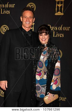LOS ANGELES - NOV 7:  Gregg Marx, Philece Sampler at the Days of Our Lives 50th Anniversary Party at the Hollywood Palladium on November 7, 2015 in Los Angeles, CA