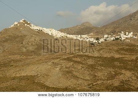 Town In Greek Island