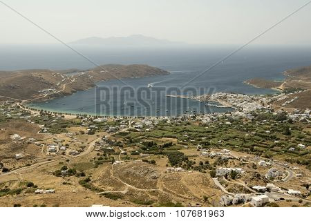 Serifos Island View From Above