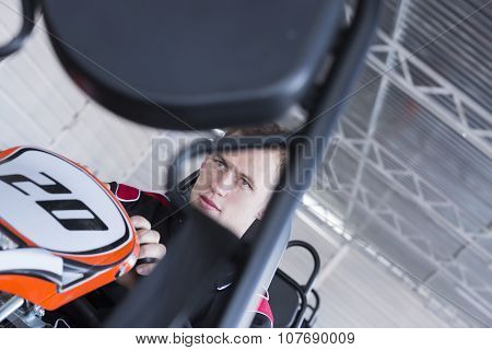 Pilot Testing A Gokart