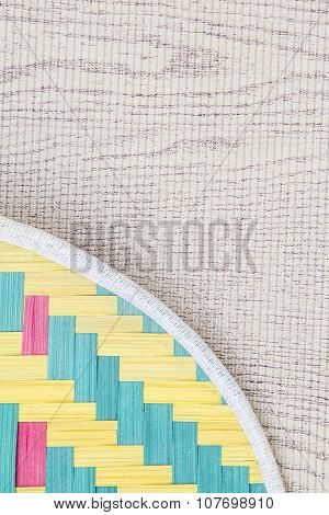 Pattern of paper and wood.Abstract texture background