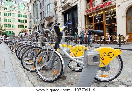 Brussels Bicycles