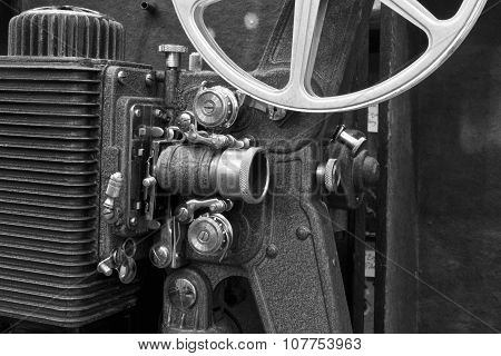 Antique Film Projector III - Antique Film Projector from the 1920s or 1930s