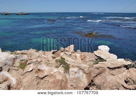 Limestone at the Ocean's Edge: Cape Peron, Western Australia