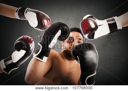 Failed boxer