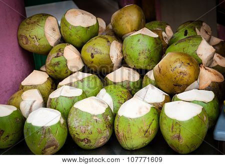 Coconuts On Sale For Its Thirst Quenching Water