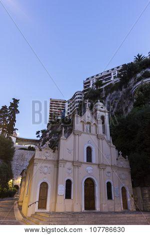 Sainte-dévote Chapel In Monaco