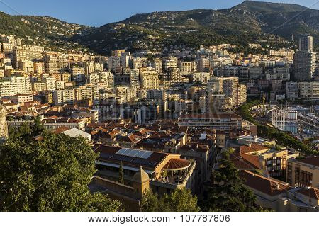 View On Monte Carlo In Monaco In The Morning