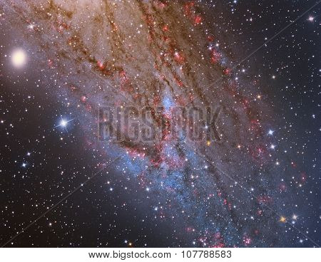 M31 Andromeda Galaxy Closeup