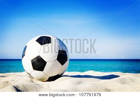 Let's Have Fun Beach Nature Relaxation Concept