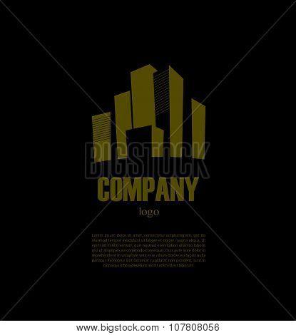 Vector logo disign for urban building