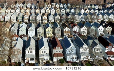 cookie cutter houses