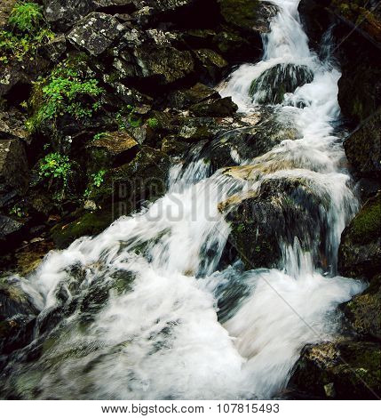 Steep Mountain Stream