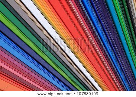 Detail Of Color Palette