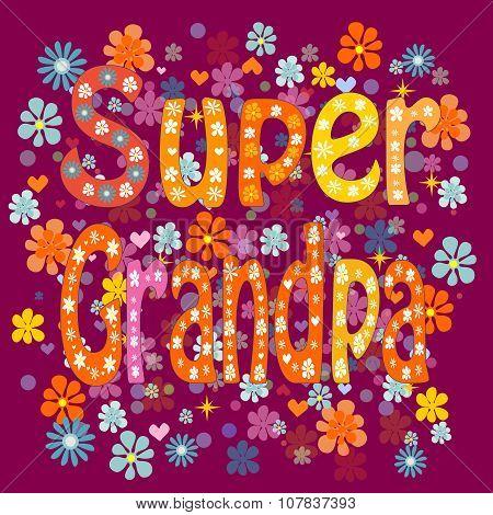 Super grandpa birthday
