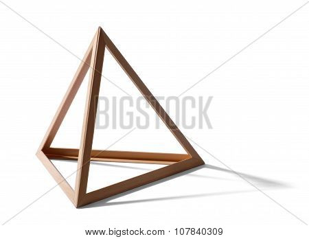 Empty Triangular Frame