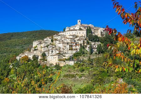 pictorial villages of Ialy - Labro in Rieti province