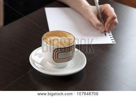 Coffe On A Table