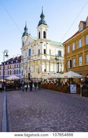 Holy Spirit Church In Warsaw