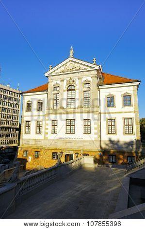 Warsaw, Ostrogski Palace