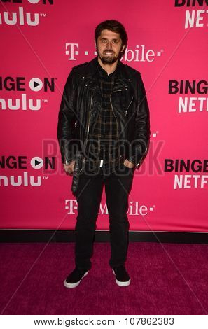 LOS ANGELES - NOV 10:  Ludo Lefebvre at the T-Mobile Un-carrier X Launch Celebration at the Shrine Auditorium on November 10, 2015 in Los Angeles, CA