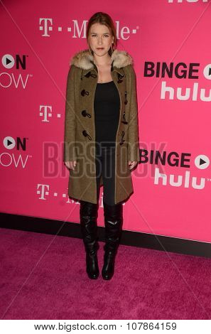 LOS ANGELES - NOV 10:  Nathalia Ramos at the T-Mobile Un-carrier X Launch Celebration at the Shrine Auditorium on November 10, 2015 in Los Angeles, CA