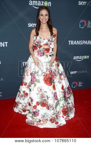 LOS ANGELES - NOV 9:  Kelsey Reinhardt at the