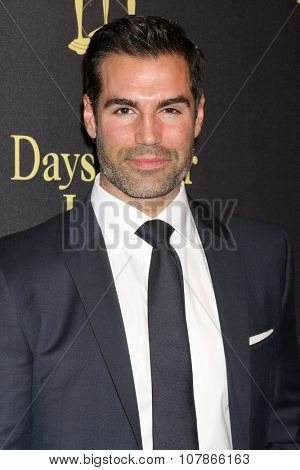 LOS ANGELES - NOV 7:  Jordi Vilasuso at the Days of Our Lives 50th Anniversary Party at the Hollywood Palladium on November 7, 2015 in Los Angeles, CA