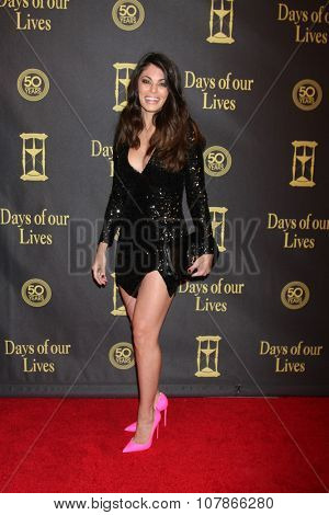 LOS ANGELES - NOV 7:  Lindsay Hartley at the Days of Our Lives 50th Anniversary Party at the Hollywood Palladium on November 7, 2015 in Los Angeles, CA