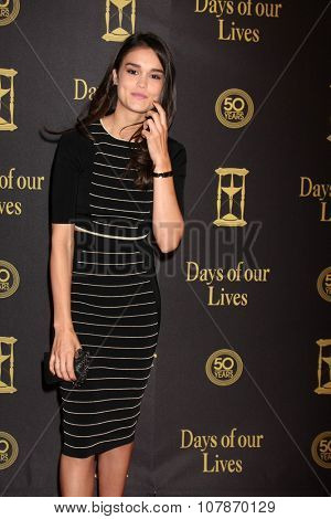 LOS ANGELES - NOV 7:  True O'Brien at the Days of Our Lives 50th Anniversary Party at the Hollywood Palladium on November 7, 2015 in Los Angeles, CA