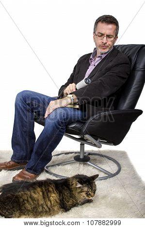 Cat Fur on Jacket