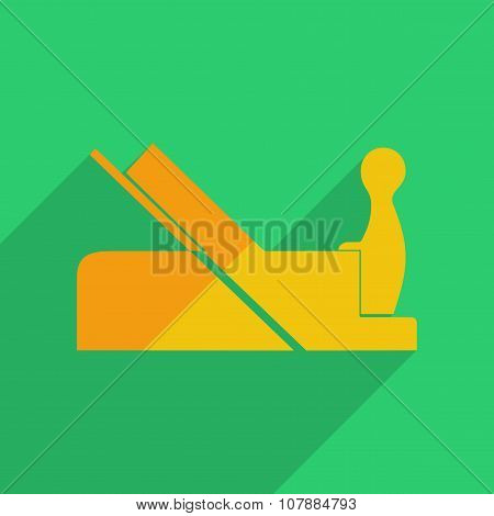 Flat icons modern design with shadow of jointer