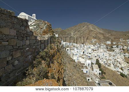 Serifos Island Town, Cyclades, Greece