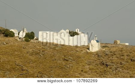 Greek Island Monastery