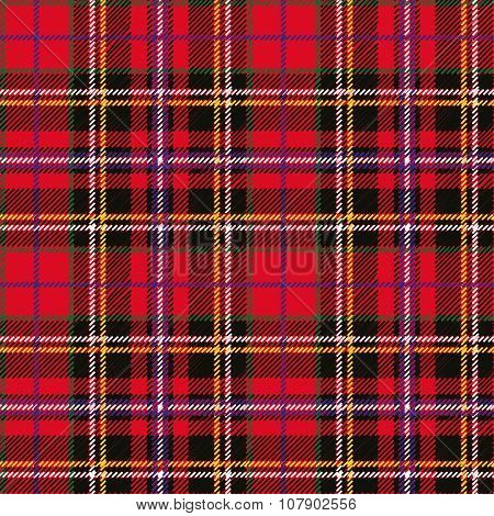 Tartan seamless pattern and background