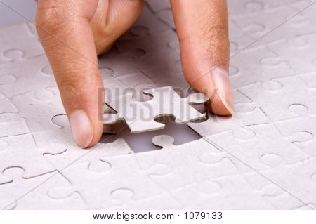 Playing Jigsaw Puzzle
