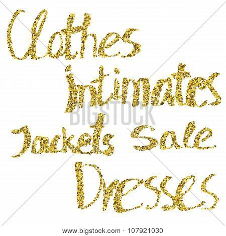 Clothes, intimates, jackets, sale, dresses.