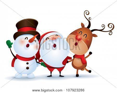 Happy Christmas companions