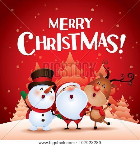 Merry Christmas! Happy Christmas companions.