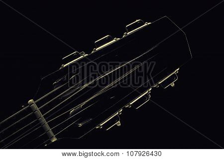 Head Of Acoustic Guitar