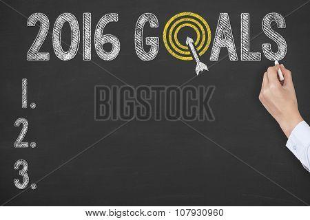 2016 Goals on Blackboard