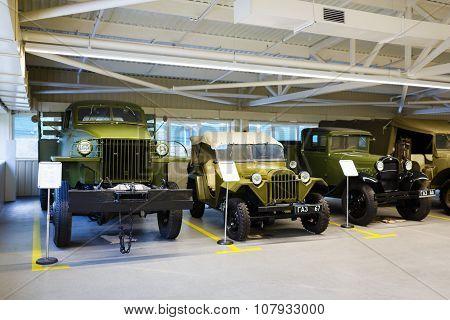 Exhibition Of Retro-cars In Mezhyhirya