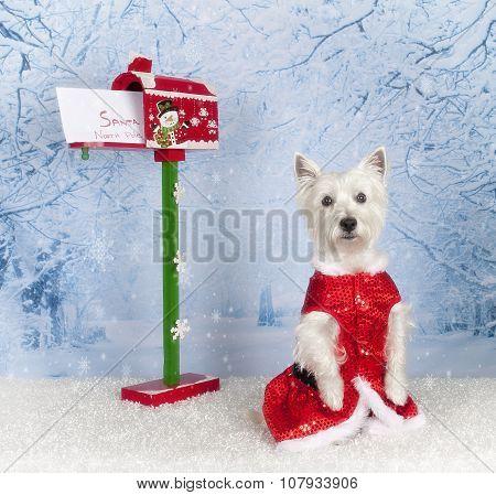 Mailing Santa letter