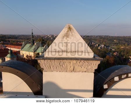 Church Of Sts. Archangel Michael In Sandomierz, Poland