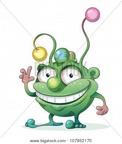 Good-natured Green Monster